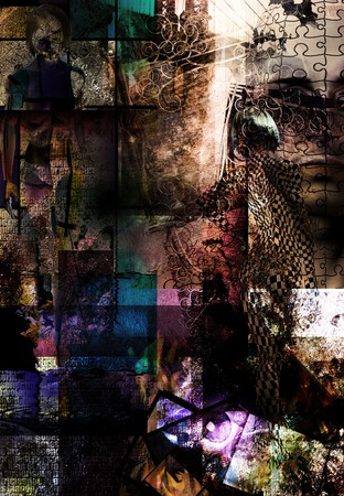 grungy: Grunge Abstract
