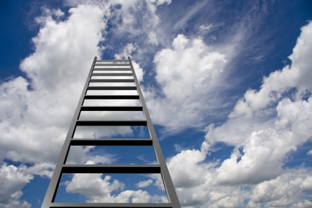 corporate ladder: Ladder to Sky