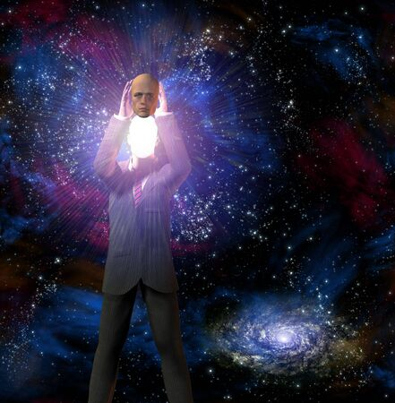 mentality: Man reveals inner light