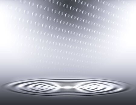 crystaline: Bright Abstract with ripples Stock Photo