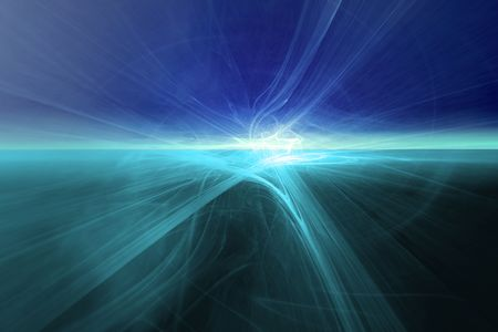futuristic nature: Light Abstract Stock Photo