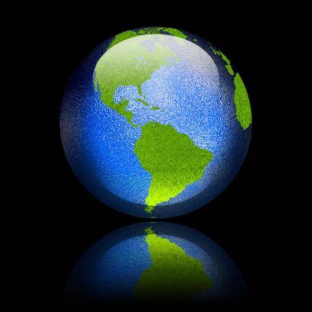 continente americano: Brillante Continente Americano Bot�n Web