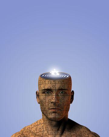 Hiuman Puzzle Mind photo