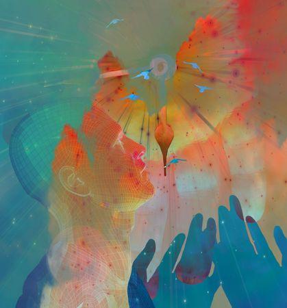 human mind: Manos y Sky