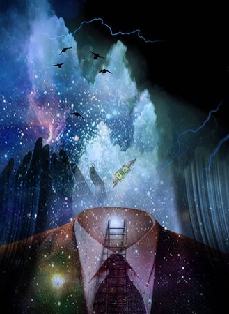 spiritual growth: Surreal Ethereal Image