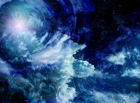 awe: Space Stock Photo