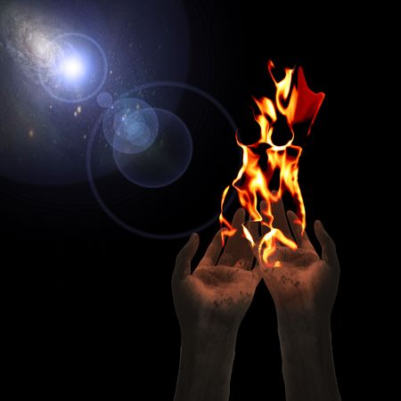 Creation of Woman in the form of fire