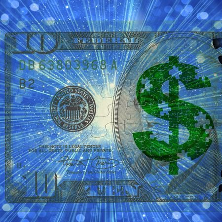 Dollar Puzzle photo