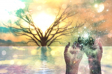 Composición espiritual Foto de archivo