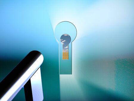 key hole: Keyhole
