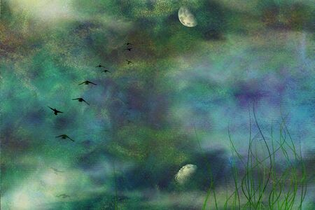 Marsh Digital Painting