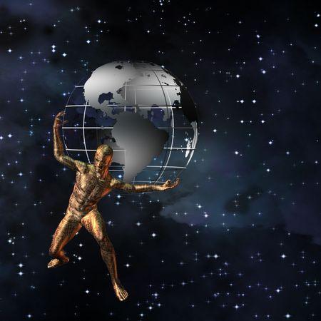 Atlas, 지구를 보유하고있는 기술