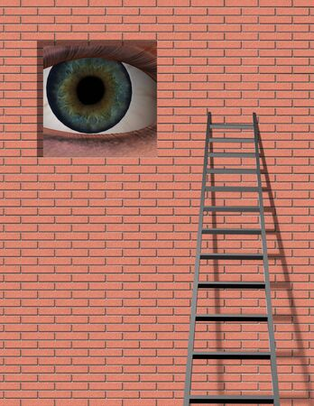 hypnotize: Ladder and Large Eye