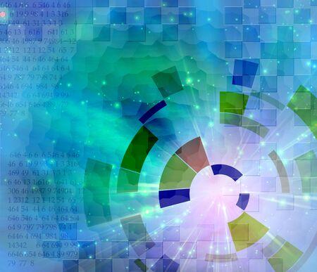 Binary Abstract Stock Photo - 6076353