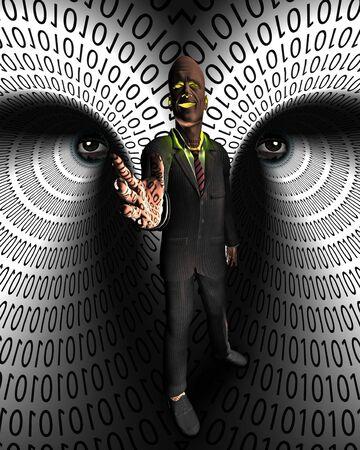 Data Thief Stock Photo - 6112665
