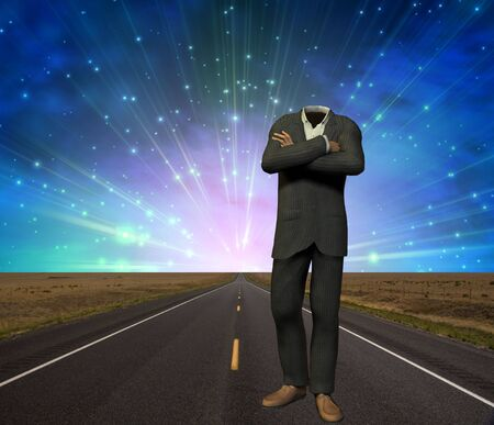 enchantment: Empty Suit on Road