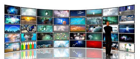 Media schermen