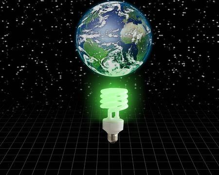 Global Green Idea Stock Photo - 6242468