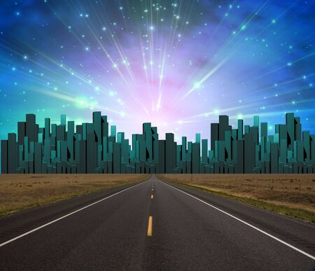 imaginary: Road to City of light