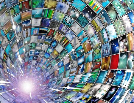 Broadcast Tunnel Stock Photo - 6346426
