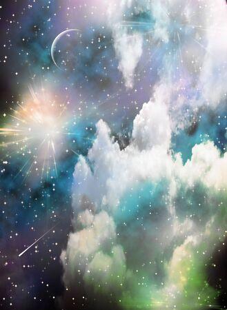 Space Reklamní fotografie