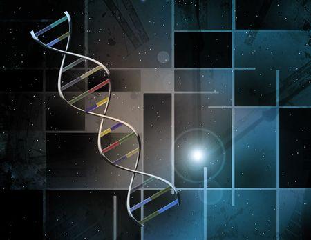 DNA Abstract Stock fotó - 6525267