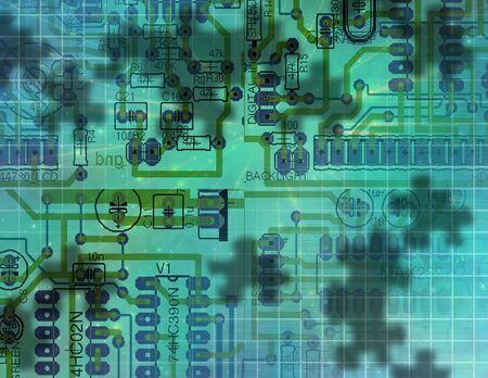 Circuit Technology Stock Photo - 6525351
