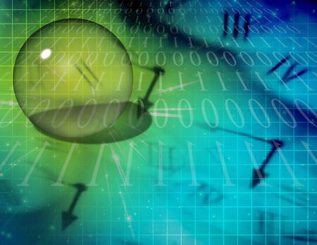 time binary abstract Stock Photo - 6525346