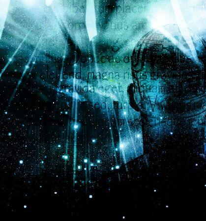 Humanoid Sci Fi grunge