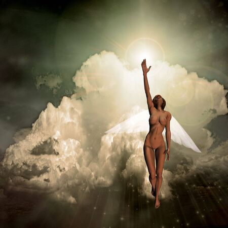 messengers of god: Angel Stock Photo