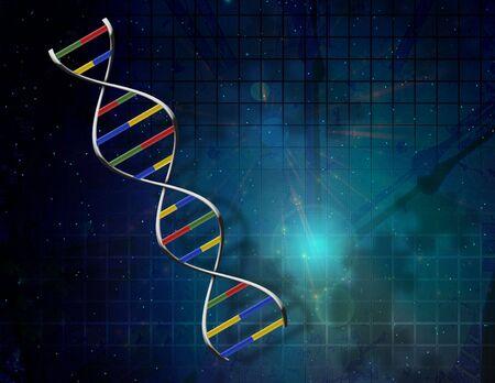 DNA Puzzle Stock Photo - 6720227