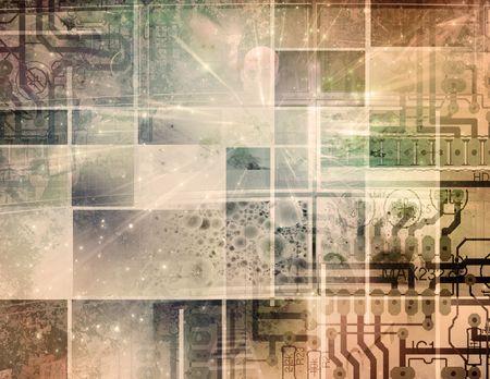 Circuit Technology Stock Photo