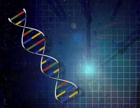 Genetics time Stock Photo