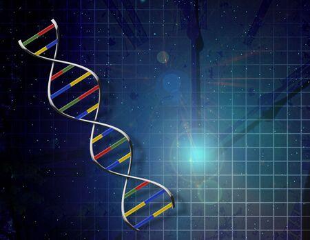 Genetics time Banque d'images
