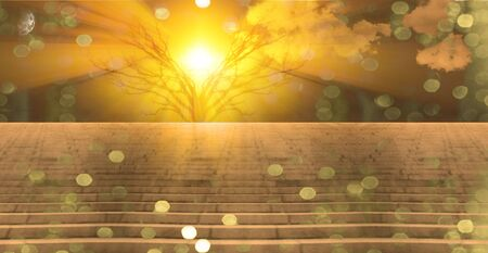 enchantment: Stairway landscape