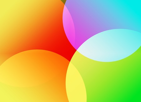 technology abstract background: Colorful Abstract