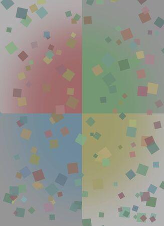 Squares abstract Фото со стока