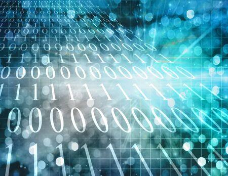 Binary Abstract Stock Photo - 7057499