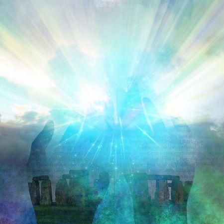 concept magical universe: Composici�n serena