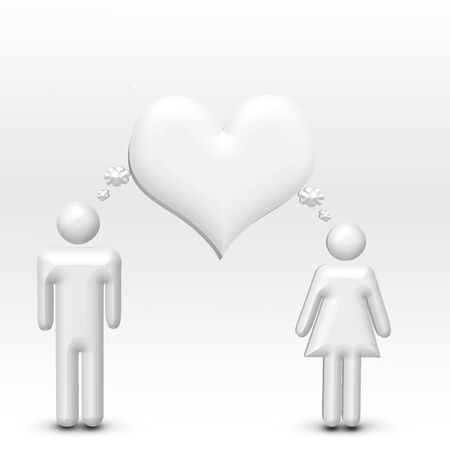 Couple with Hearts