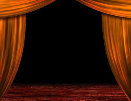 theatrical performance: Stage Stock Photo