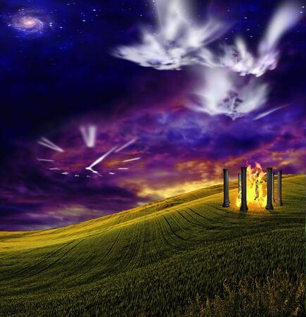 Dreamscape time photo