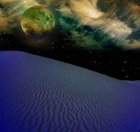 Night Desert Stock Photo - 7323468