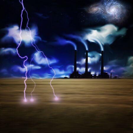 pipe dream: Noche el�ctrica