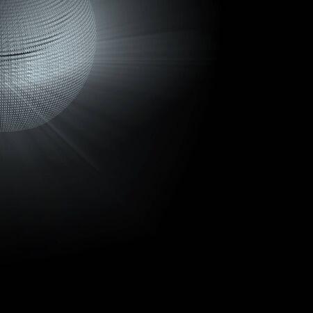 Binary Globe photo