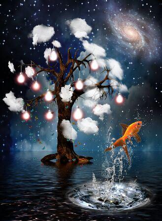 Idea Tree Stock Photo - 7352699