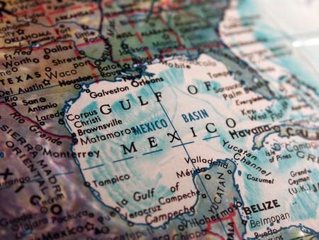 derrames: Golfo de mexico