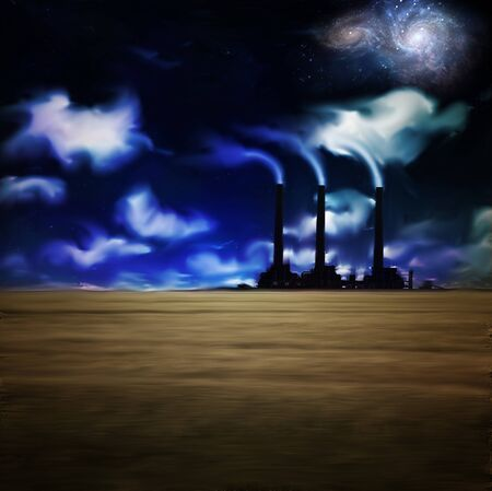 pipe dream: F�brica de noche