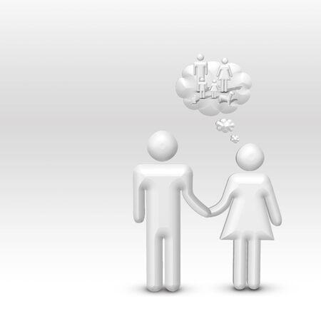 imagines: Woman Imagines Family