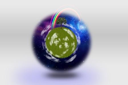 Green Planet Stock Photo - 7574043